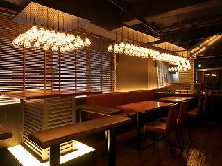 飲食店のかっこいい 照明デザインがもたらす空間演出