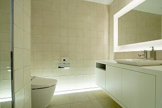 トイレの間接照明 やさしい