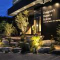 ギャラリー創_植物と照明が美しいエントランス